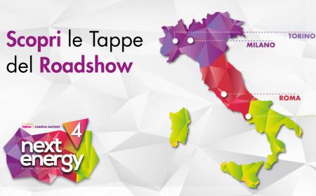 Roadshow Next Energy: ti aspettiamo in tutta Italia