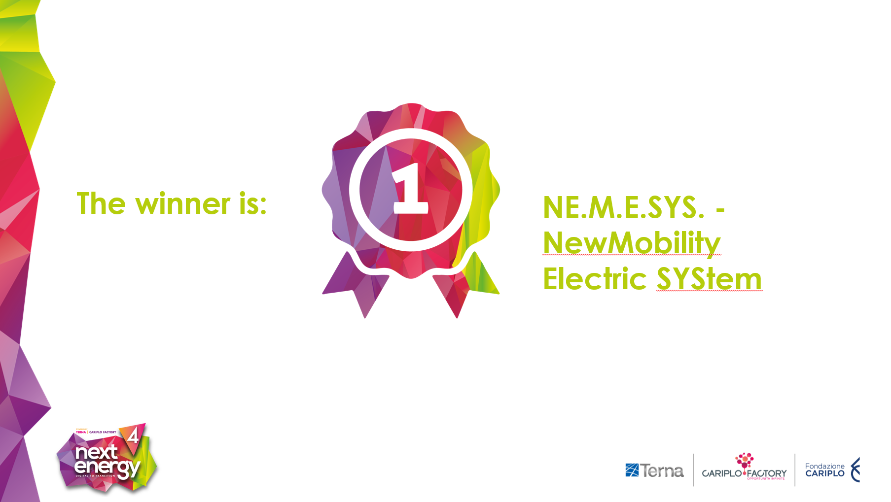 NEMESYS New Mobility Electric SYStem vince Next Energy 4